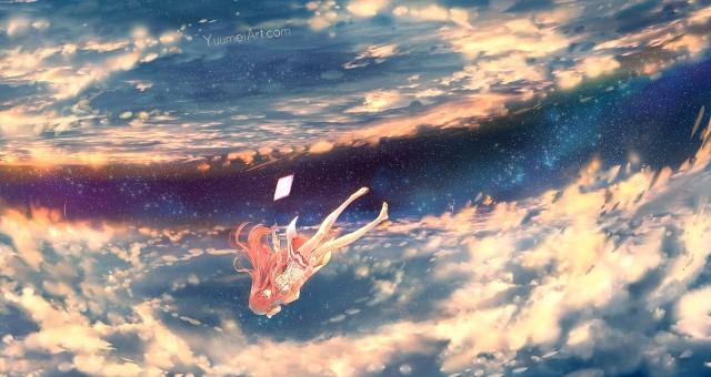 Artista: Yuumei Fonte: http://yuumei.deviantart.com/art/Shelter-643937166?src=MC_deviation_stack