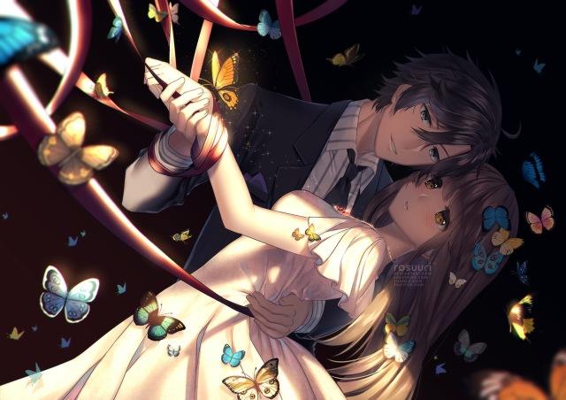Artista: Rosuuri Fonte: http://rosuuri.deviantart.com/art/Trapped-645182149 Jogo: Mystic messenger